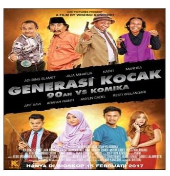 Generasi Kocak: 90an vs Komika (2017) Subtitle Indonesia